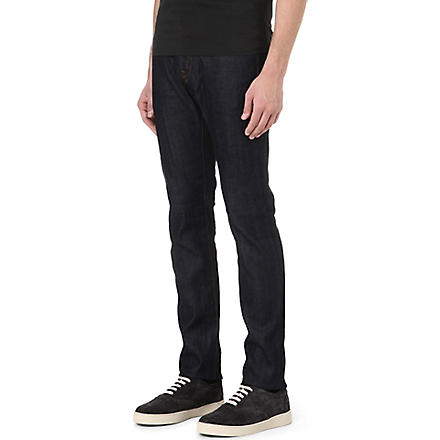 PAUL SMITH JEANS Slim-fit straight jeans (Blue