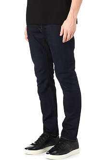 PAUL SMITH JEANS Slim-fit straight overdyed jeans