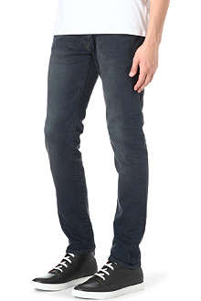 PAUL SMITH JEANS Grey wash stretch-denim jeans