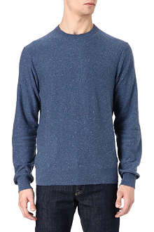 PAUL SMITH JEANS Flecked cord elbow-patch jumper