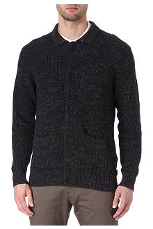PAUL SMITH JEANS Melange ribbed cardigan