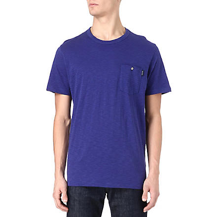 PAUL SMITH JEANS Candy striped t-shirt (Blue