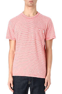 PAUL SMITH JEANS Candy-striped t-shirt