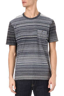PAUL SMITH JEANS Multi-stripe t-shirt