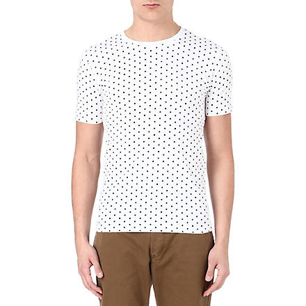 PAUL SMITH JEANS Polka dot t-shirt (White