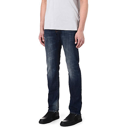 PAUL SMITH JEANS Slim-fit straight jeans (Antique