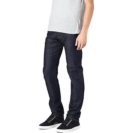 PAUL SMITH JEANS Regular-fit tapered jeans (Blue