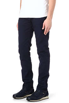PAUL SMITH JEANS Overdyed regular-fit tapered jeans