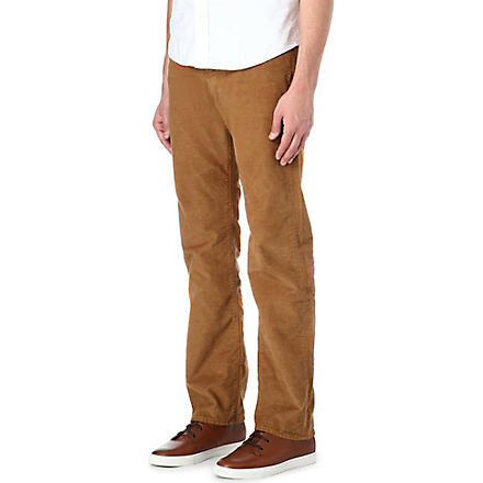 PAUL SMITH JEANS Regular-fit corduroy trousers (Tan