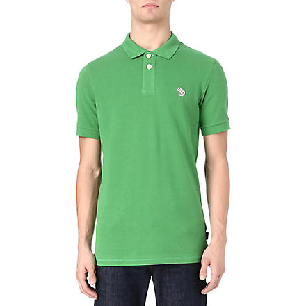 PAUL SMITH JEANS Zebra logo polo shirt (Green