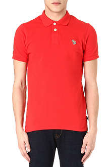 PAUL SMITH JEANS Zebra logo polo shirt
