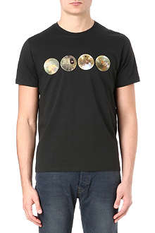 PAUL SMITH JEANS Globe cotton-jersey t-shirt