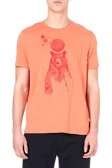 PAUL SMITH JEANS Bear print t-shirt