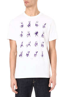 PAUL SMITH JEANS Hands rift t-shirt