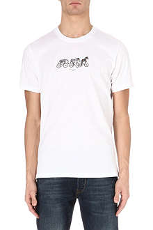 PAUL SMITH JEANS Cycling Zebra t-shirt