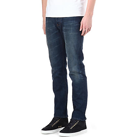 PAUL SMITH JEANS Regular-fit straight jeans (Antique