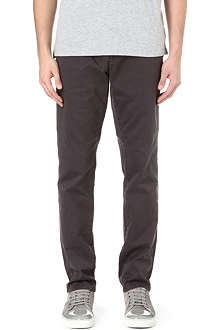 PAUL SMITH JEANS Tapered carrot chino trousers