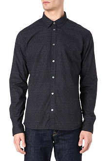 PAUL SMITH JEANS Little dot jacquard shirt
