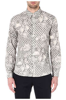 PAUL SMITH JEANS Bear-print shirt