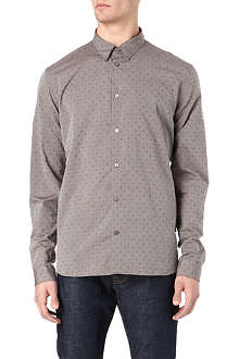 PAUL SMITH JEANS Dot jacquard shirt