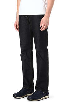 PAUL SMITH JEANS Easy loose-fit straight jeans