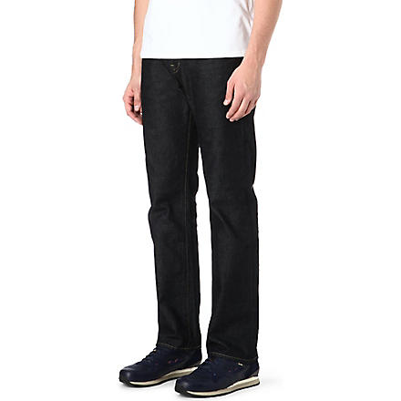 PAUL SMITH JEANS Easy loose-fit straight jeans (Blue