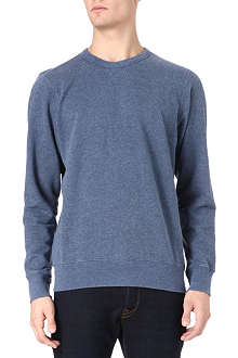 PAUL SMITH JEANS Washed crew sweatshirt