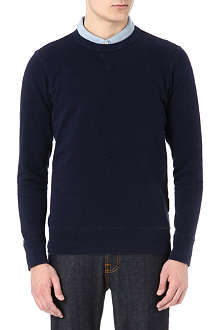 PAUL SMITH JEANS Washed crew-neck sweatshirt
