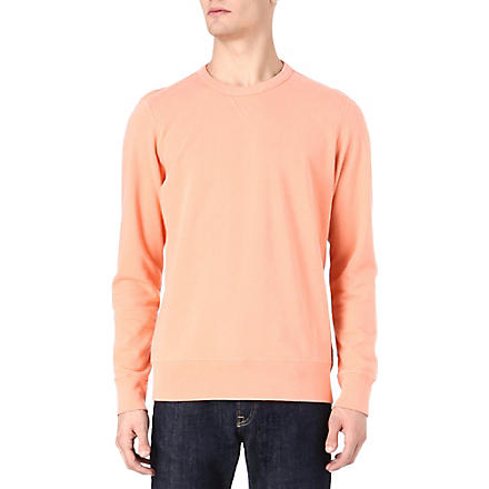 PAUL SMITH JEANS Washed crew sweatshirt (Pink