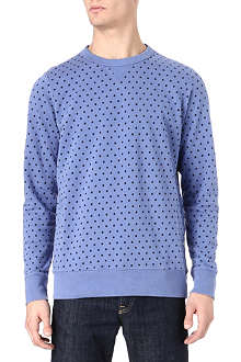 PAUL SMITH JEANS Polka dot wool jumper