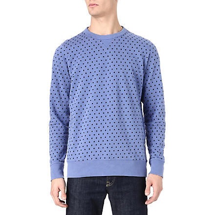 PAUL SMITH JEANS Polka dot wool jumper (Purple