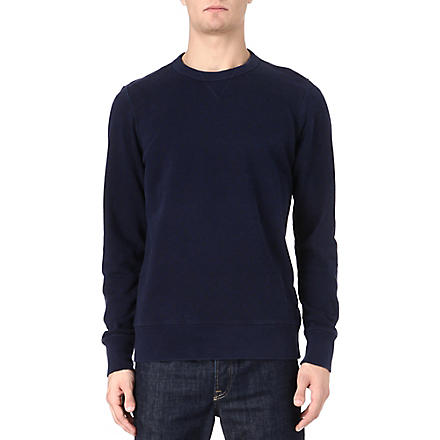 PAUL SMITH JEANS Polka dot merino wool jumper (Navy