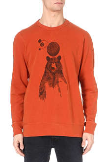 PAUL SMITH JEANS Bear-print sweatshirt