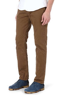 PAUL SMITH JEANS Colombian tapered-fit chino trousers