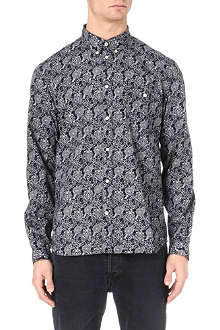 PAUL SMITH JEANS Geometric-print shirt
