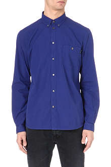 PAUL SMITH JEANS Perforated-pocket shirt