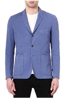 PAUL SMITH JEANS Cotton and linen-blend blazer