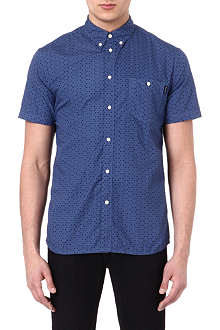 PAUL SMITH JEANS Tiny triangle-print shirt