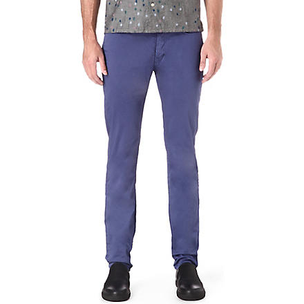 PAUL SMITH JEANS Slim-fit chinos (Blue