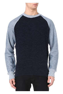 PAUL SMITH JEANS Textured knit jumper