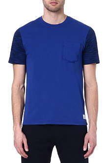 PAUL SMITH JEANS Space dye cotton t-shirt