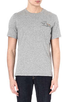 PAUL SMITH JEANS Rabbit-print pocket t-shirt