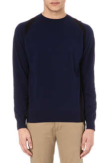 PAUL SMITH JEANS Strap detail knitted jumper