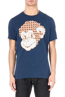 PAUL SMITH JEANS Monkey-print t-shirt