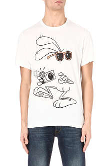 PAUL SMITH JEANS Rabbit-print t-shirt