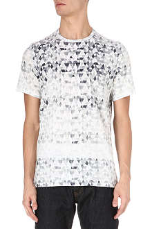 PAUL SMITH JEANS Triangle-print t-shirt