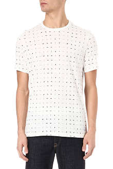PAUL SMITH JEANS Hieroglyphics Print T-Shirt