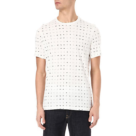 PAUL SMITH JEANS Hieroglyphics Print T-Shirt (White