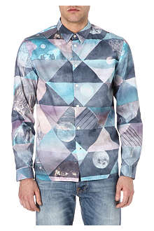 PAUL SMITH JEANS Pastel triangle shirt