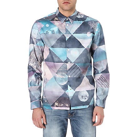 PAUL SMITH JEANS Pastel triangle shirt (Multi